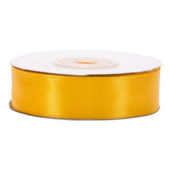 """סרט סאטן 2 ס""""מ 25 יארד-צהוב חלמון"""