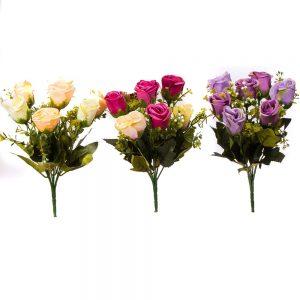 זר ורד סגור מיקס עם תוספות 7X