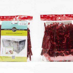 """חצאית שולחן מיטאלי 426/76 ס""""מ-אדום"""