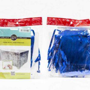 """חצאית שולחן מיטאלי 426/76 ס""""מ-כחול"""
