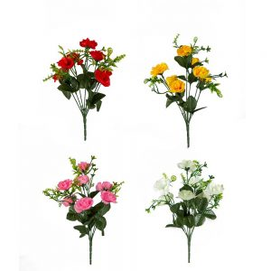 זר ורד פתוח מיני 7X -מעורב