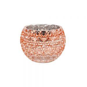 """וזה זכוכית ק.13 ג.13 ס""""מ-גולדן רוז-כסף"""