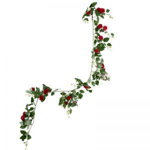 "גרלנדה ורדים א.160 ס""מ-אדום"