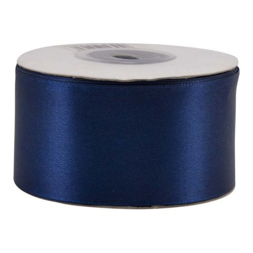 """סרט סאטן 3.80 ס""""מ 25Y -כחול כהה"""