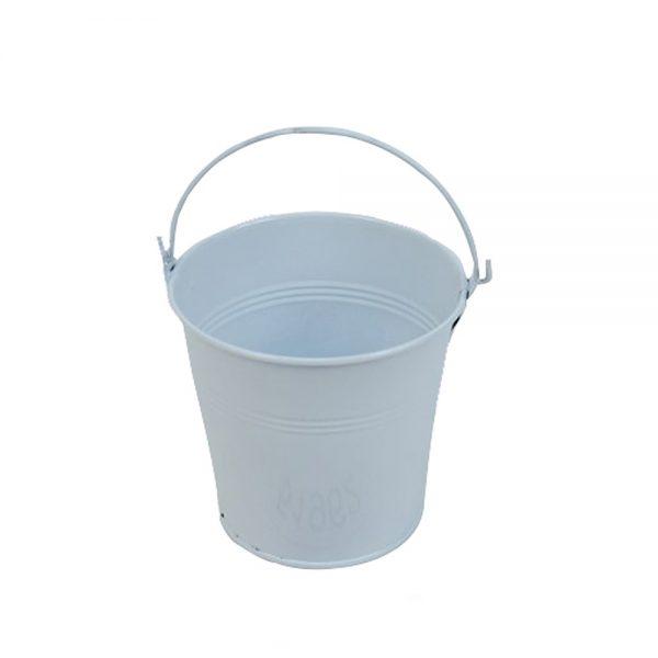 דלי פח ק.10 ג.11-לבן