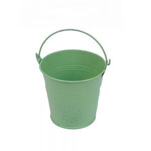 דלי פח ק.10 ג.11-ירוק