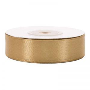 """סרט סאטן 2 ס""""מ 25 יארד-זהב בהיר"""