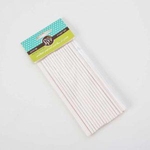 """חבילת 25 מקל נייר לפופקייקס א.20 ס""""מ ק.0.5 ס""""מ"""