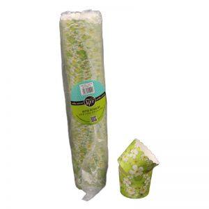 """חבילת 50 עטרות קרטון לאפיה 6/4.6 ס""""מ-פיטנה ירוק"""