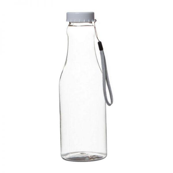 """בקבוק פלסטי שקוף ק.7.5 ג.23 ס""""מ (כ680 מיל)"""