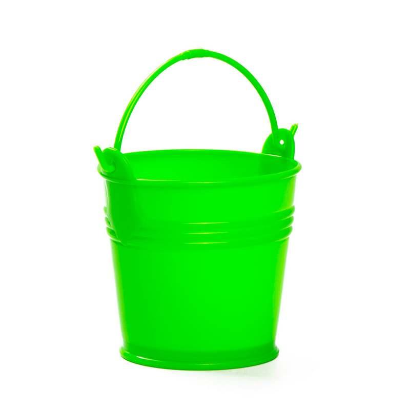 """דלי פלסטי ק.10 ג.9.5 ס""""מ-ירוק"""