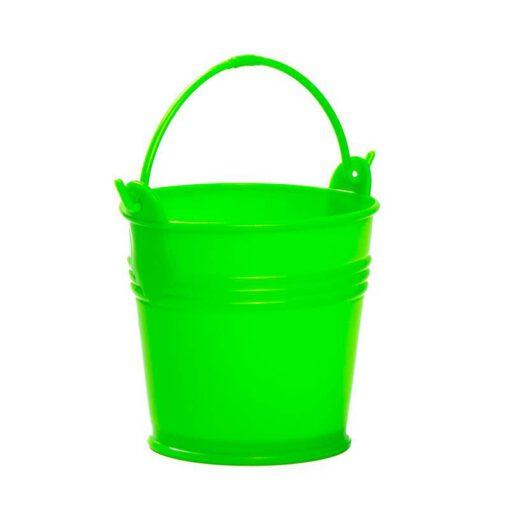 """דלי פלסטי ק.12.5 ג.11.5 ס""""מ-ירוק"""
