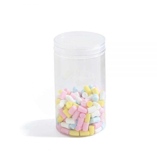"צנצנת פלסטיק ק.8 ג.15 ס""מ (כ750 מיל)"