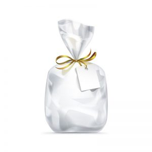 """חבילת 25 שקיות צלופן - 50/70 ס""""מ"""
