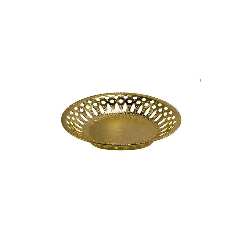 """קערה פלסטית ק.25 ג.4.5 ס""""מ-זהב"""
