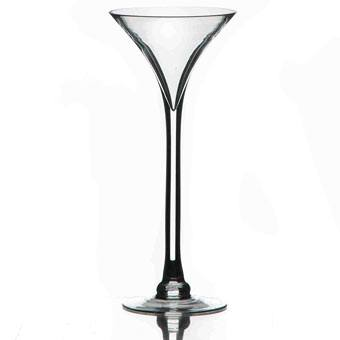 "גביע זכוכית מרטיני ק.13 ג.30 ס""מ"