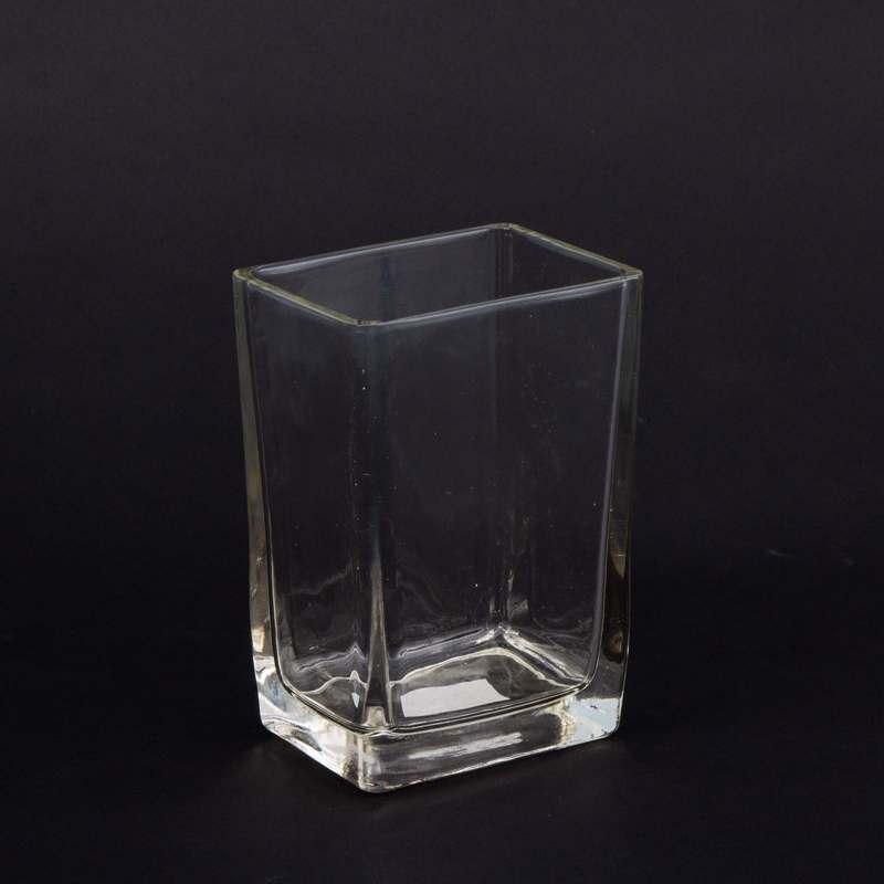 """וזה זכוכית מלבני א.10 ר.7.5 ג.14.5 ס""""מ"""