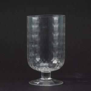 """גביע זכוכית אליפטי ק.11.8 ג.21 ס""""מ"""