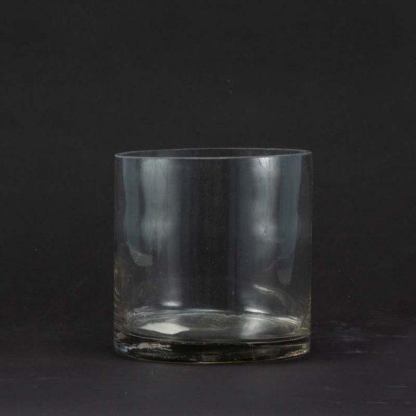 """וזה זכוכית צלינדר ק.12.5 ג.12.5 ס""""מ"""