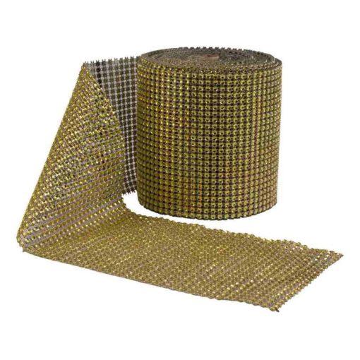 """רנר חרוזים 11.5 ס""""מ/10יארד-זהב"""