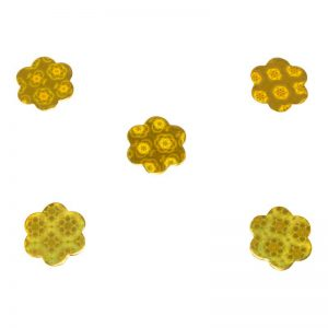 חבילת 20 גרם קונפטי-פרח זהב
