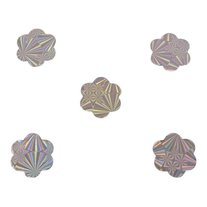 חבילת 20 גרם קונפטי-פרח כסף