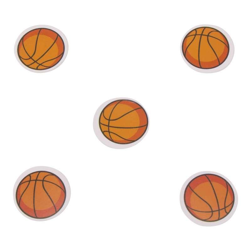 """חבילת 20 גרם קונפטי-כדורסל ק.2 ס""""מ"""