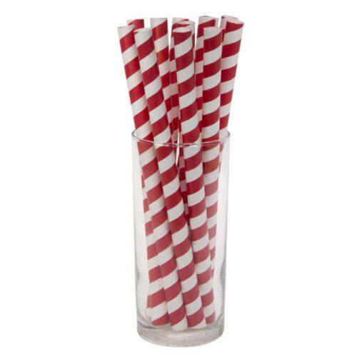 """חבילת 12 קשית נייר ג'מבו ק.1 א.19.5 ס""""מ-אדום"""