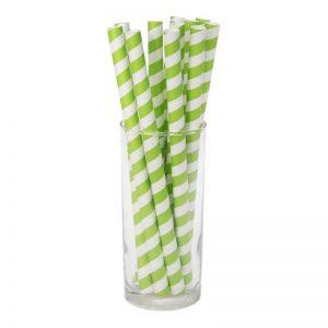 """חבילת 12 קשית נייר ג'מבו ק.1 א.19.5 ס""""מ-ירוק"""