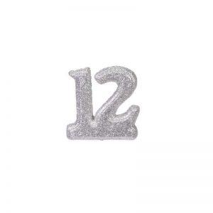 """מספר 12 קלקר-כסף 10 ס""""מ"""