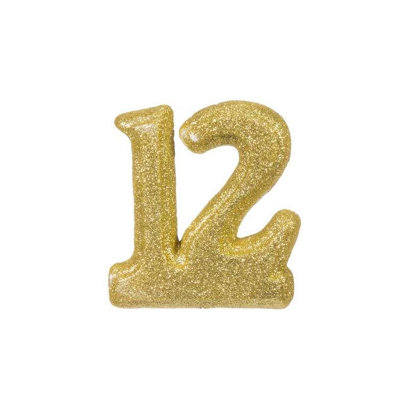 """מספר 12 קלקר-זהב 15 ס""""מ"""