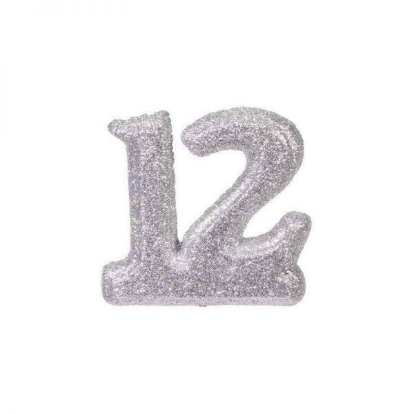 """מספר 12 קלקר-כסף 15 ס""""מ"""