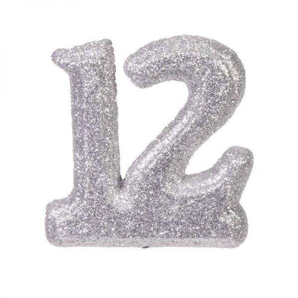 """מספר 12 קלקר-כסף 20 ס""""מ"""
