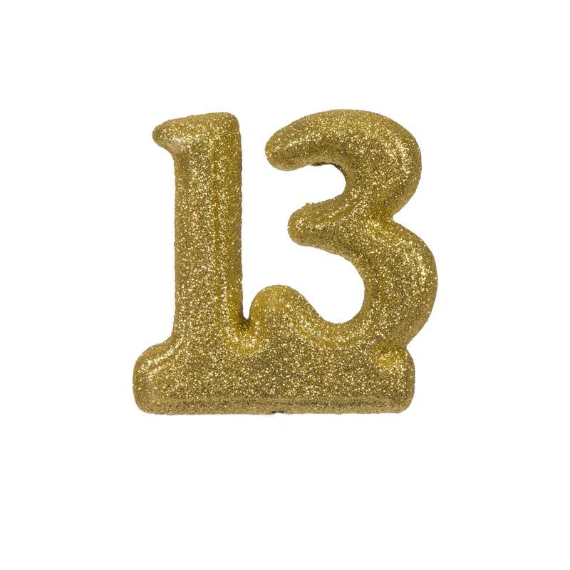 """מספר 13 קלקר-זהב 14.5 ס""""מ"""