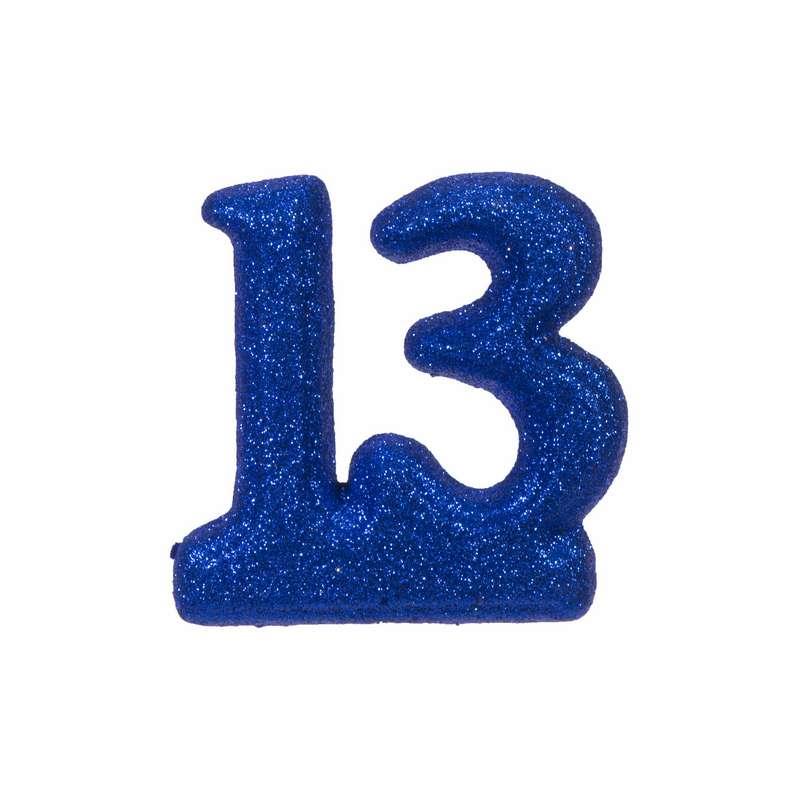 """מספר 13 קלקר-כחול 14.5 ס""""מ"""