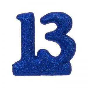 """מספר 13 קלקר-כחול 20 ס""""מ"""
