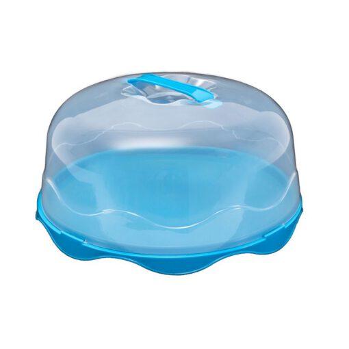 """פעמון פלסטי לעוגה ק.29 ס""""מ-תכלת"""