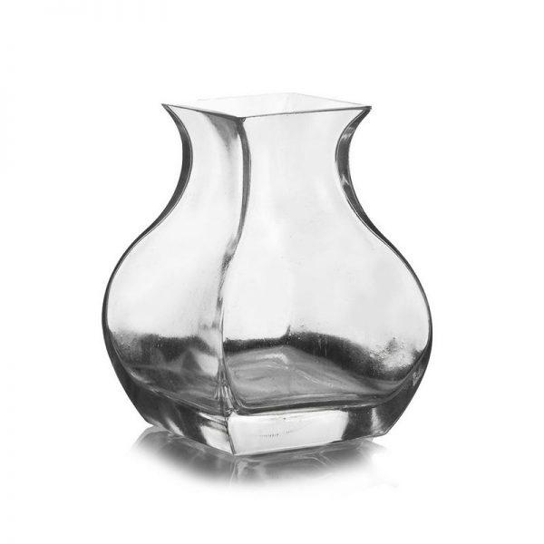 """וזה זכוכית מרובעת ר.10 ר.פ.6.5 ג.15 ס""""מ"""