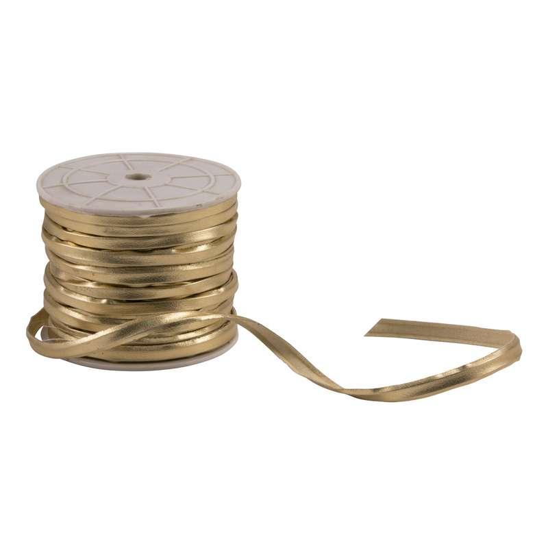 גליל 50מ' רצועה 3ממ'-זהב