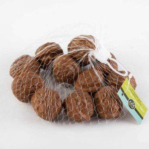 שק 12 אגוזי מלך פלסטי - טבעי