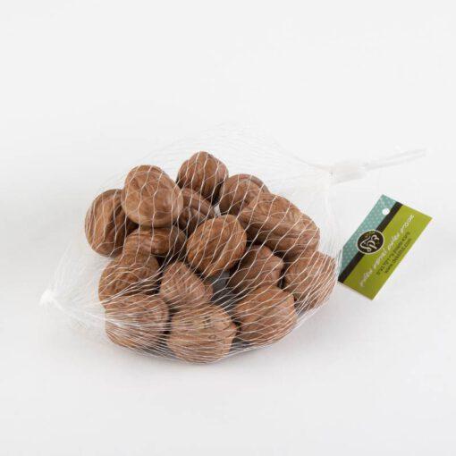 שק 18 אגוזים פלסטי טבעי (כהה)
