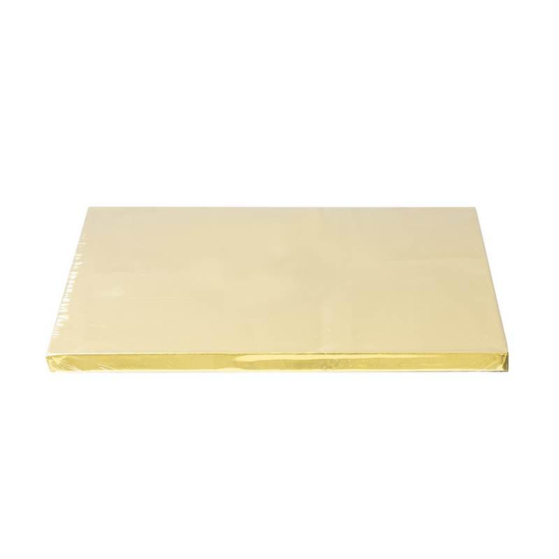 """תחתית לעוגה מרובע 12 מ""""מ ר.25 ס""""מ-זהב"""