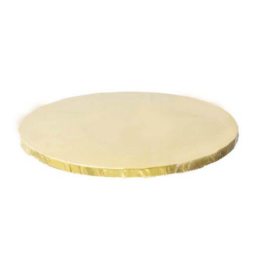 """תחתית לעוגה 12 מ""""מ- ק.30 ס""""מ-זהב"""
