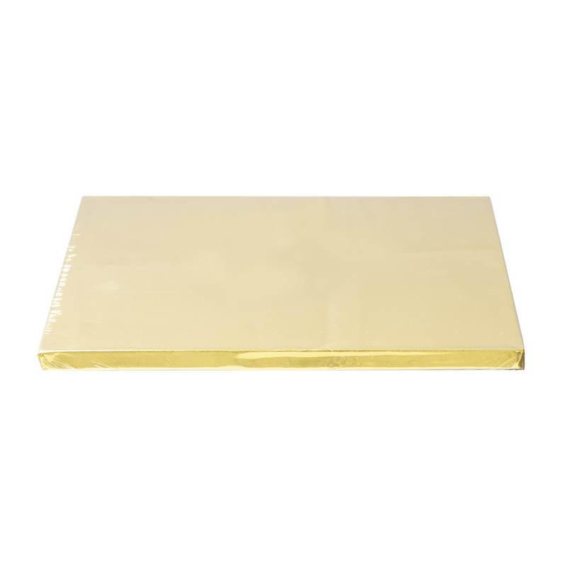 """תחתית לעוגה מרובע 12 מ""""מ ר.30 ס""""מ-זהב"""
