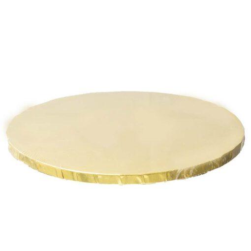 """תחתית לעוגה 12 מ""""מ- ק.35 ס""""מ-זהב"""