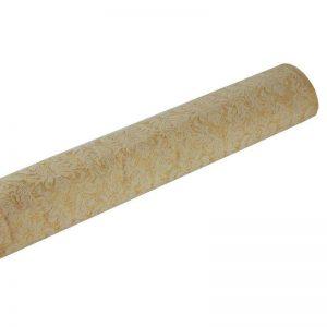 אורגנזה קטיפה ברוק ר.1.50 לפי מטר רץ-זהב/קרם