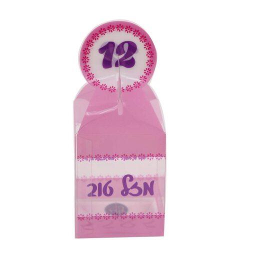 """קפ' פי וי סי 5.5/5.5/7 ס""""מ ג.כ. 13 ס""""מ-בת מצווה 12"""