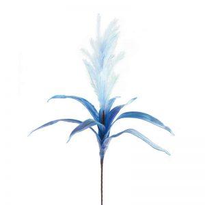 """ענף מברשות עלים ג.110 ס""""מ-תכלת"""
