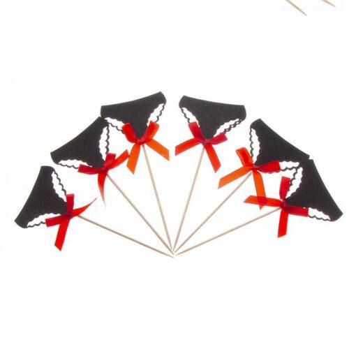 חבילת 6 דיגלון לקאפקייק-ביקיני תחתון